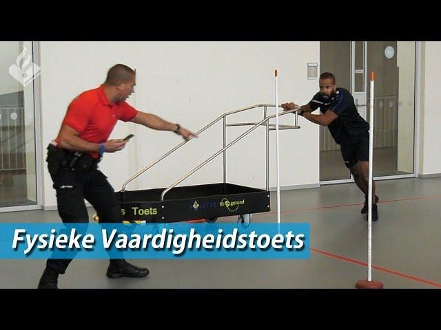 Fysieke Vaardigheidstoets - Politie - Sporttest Politie - Dwight - OBT Den Haag