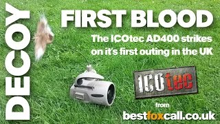 The ICOtec AD400 Decoy from Best Fox Call