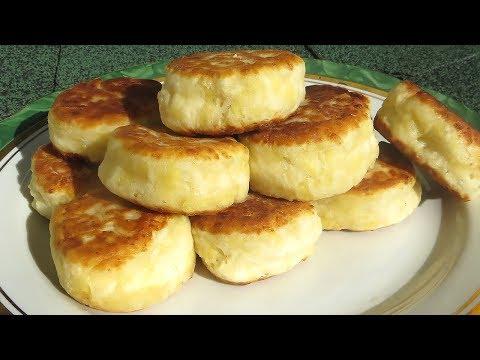 Пирожки на кефире с сыром КАК ПОНЧИКИ / ПЫШНЫЕ Оладьи на кефире на сковородке!