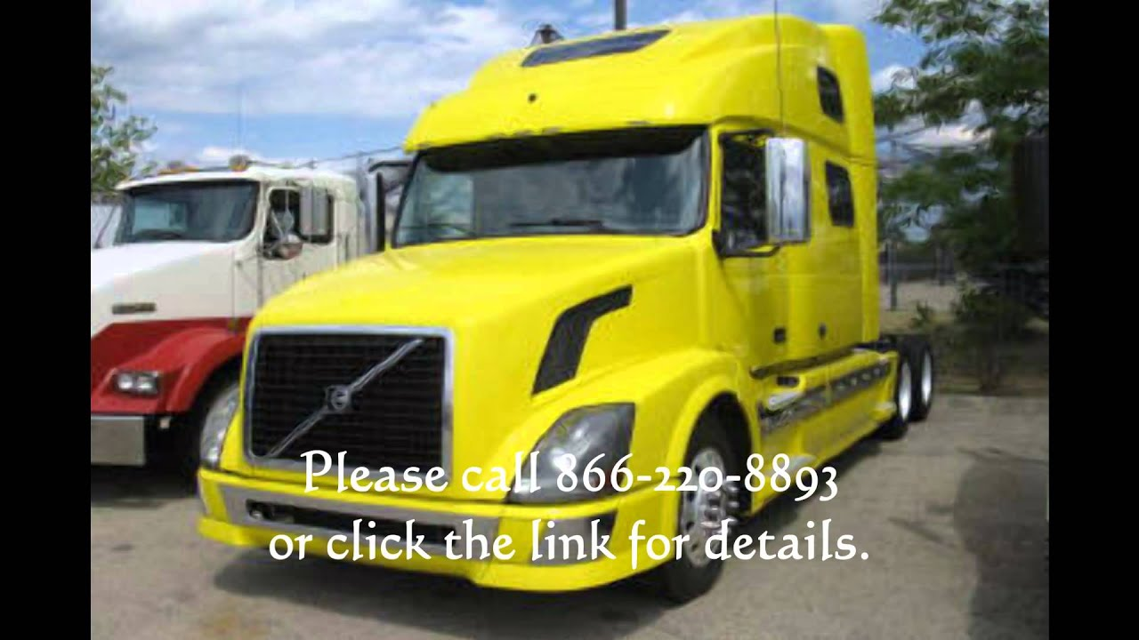 october sold paper window in full vnl item new semi truck size volvo auction