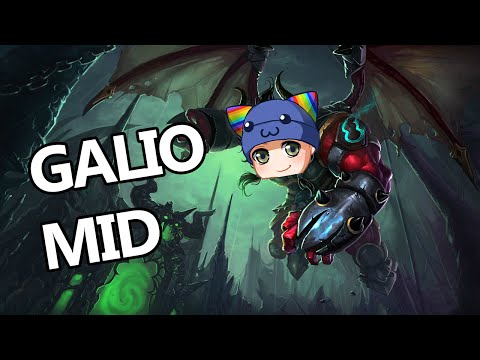 Galio l 39 invincible shield op epic ranked skyyart le for Galio counter