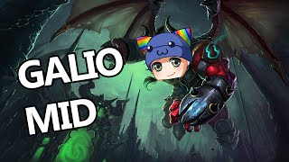 League of Legends - Galio Mid - Full Game Commentary