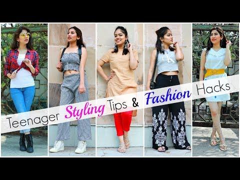 Styling TIPS & Fashion HACKS for TEENAGER Girls .. | #Affordable #Budget #Anaysa
