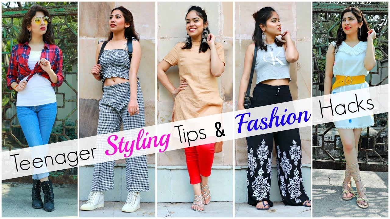 Styling TIPS \u0026 Fashion HACKS for TEENAGER Girls ..