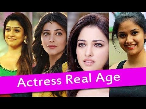 Top South Indian Actresses Real Age List   Heroines Real Age   Samantha, Nayanthara, Keerthi Suresh
