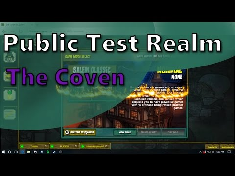 How To Access The PTR | Town of Salem | Play The Coven Now