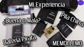 Baterías De PSP | Mi Experiencia |