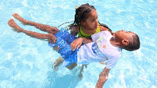 Boy ALMOST DROWNS Because He DOESN'T LISTEN | FamousTubeFamily