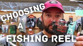 Beginner Bass Fishing - Choosing a Fishing Reel - How to Fish