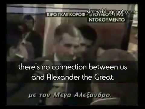"""Kiro Gligorov (ex-President of F.Y.R.) - Admits: """"We are Slavs"""""""