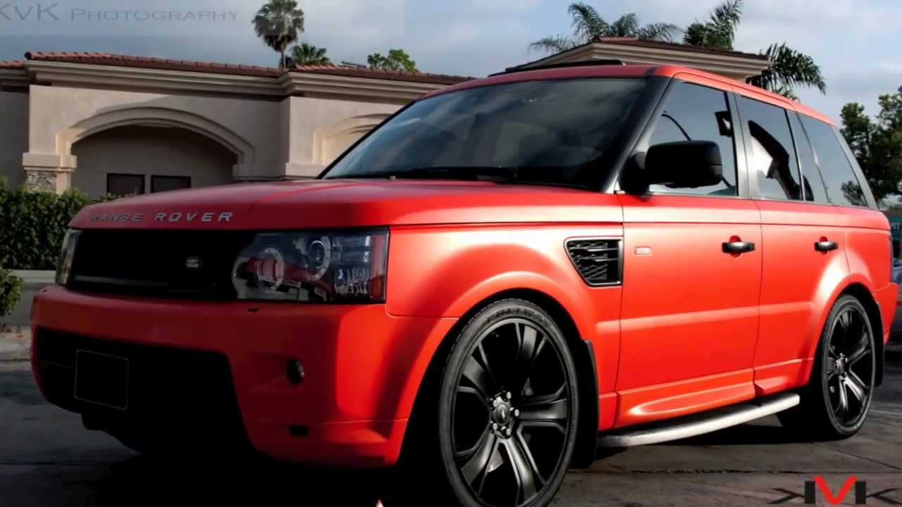 Project Satin O Range Rover Supercharged By Dbx Www