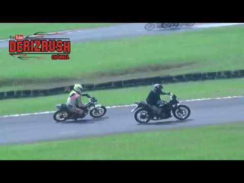 Jupiter MX VS satria FU VS honda SONIC ROAD RACE (D'EVENT SERI 5)