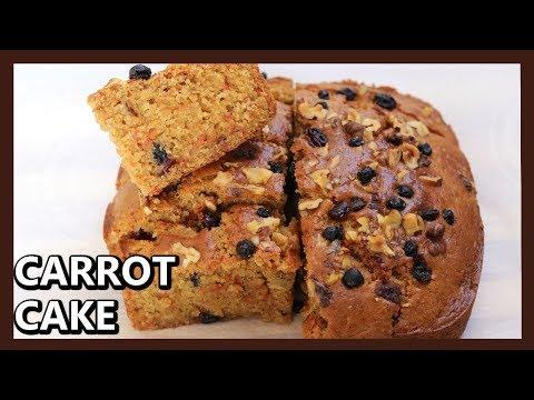 Wheat flour carrot cake recipe