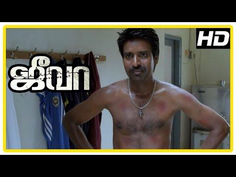 Jeeva Tamil movie   scenes   Madhusudhan Rao wants Vishnu to join his club   Lakshman Narayan
