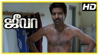 Jeeva Tamil movie | scenes | Madhusudhan Rao wants Vishnu to join his club | Lakshman Narayan