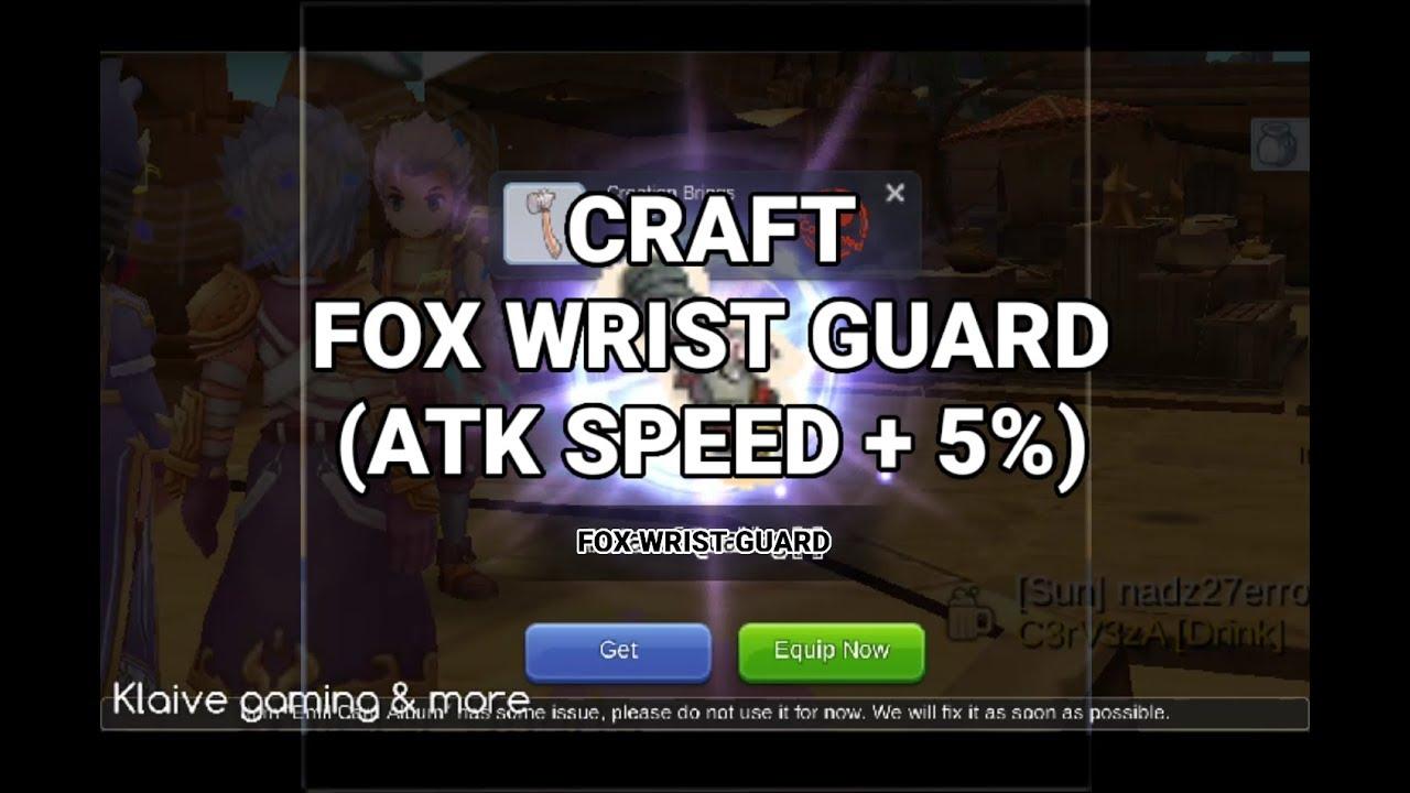 Fox Arm Guard Ragnarok