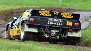 Lancia Rally 037 Group B in Action, Pure Sound!