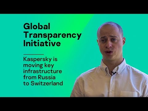 Kaspersky Lab is moving key infrastructure from Russia to Switzerland