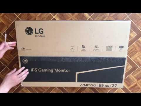 "Монітор 27"" LG 27MP59G-P"