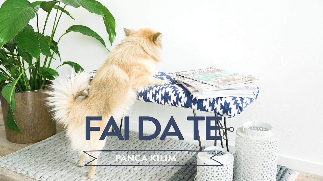 Panca Imbottita Dalani : Panca fai da te rivestita con tappeto kilim westwing youtube