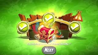 Angry Birds 2 : Daily Challenge + King Pig Panic 04.11.2017