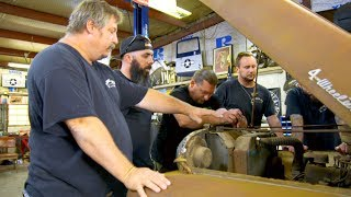 What's The Misfit Garage Crew's Game Plan For This Jacked-Up Jeep? It's Diesel Time!