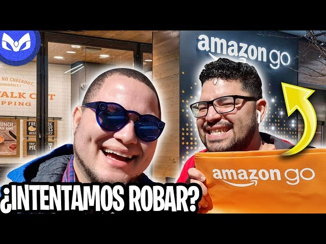 FUIMOS AL AMAZON GO STORE Y REVELAMOS SU SECRETO