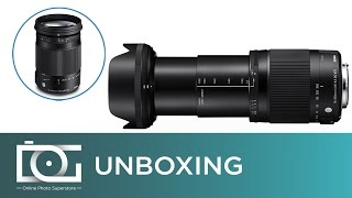 UNBOXING REVIEW | SIGMA 18-300mm f/3.5-6.3 DC Macro OS HSM (C) Contemporary Lens for CANON Cameras