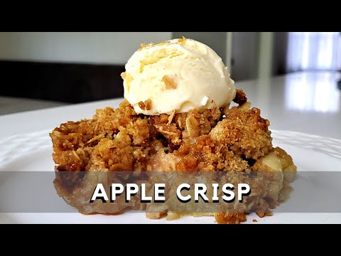 Apple Crisp Recipe   Thanksgiving Desserts