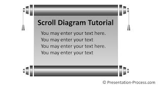 Scroll in PowerPoint : PowerPoint Diagram Series