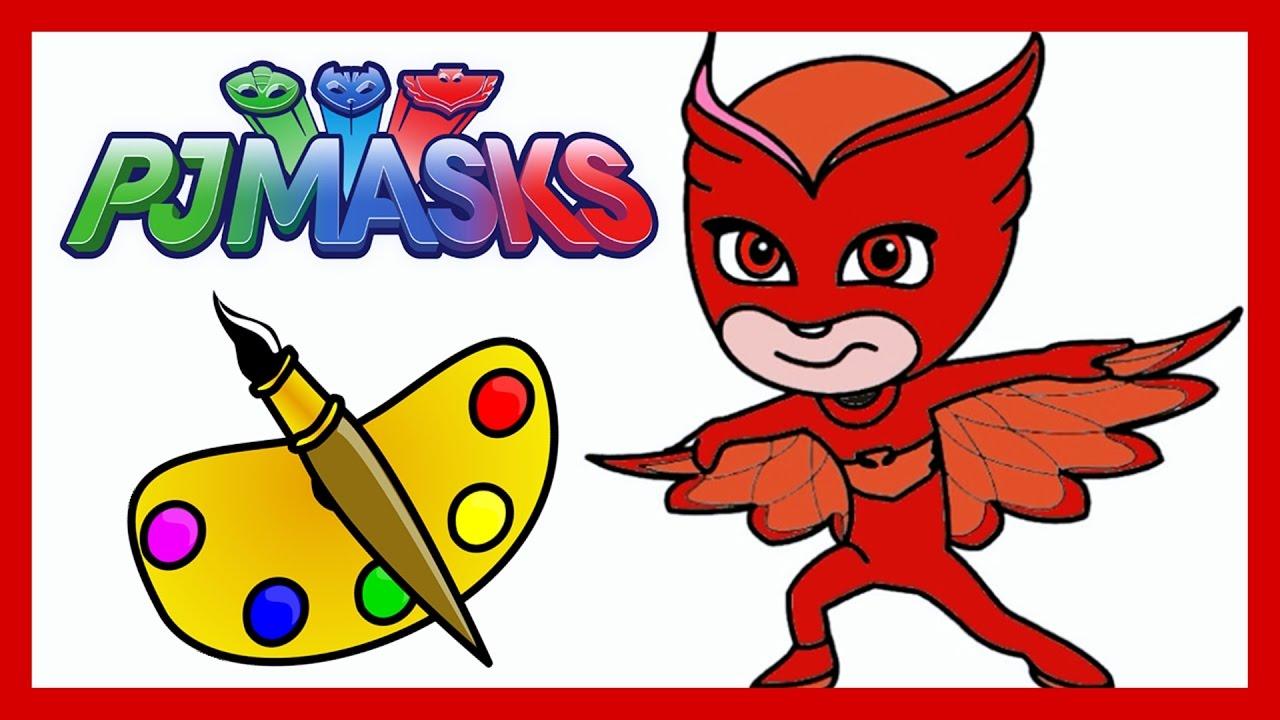 Pj Masks Héroes En Pijamas Dibujo De Ululette Amaya Disney Junior