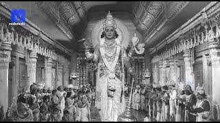 """NTR - Nagabushanam Combinaton "" - Sri Krishna Vijayam Movie || NTR | SVR| Jayalalithaa | Jamuna"