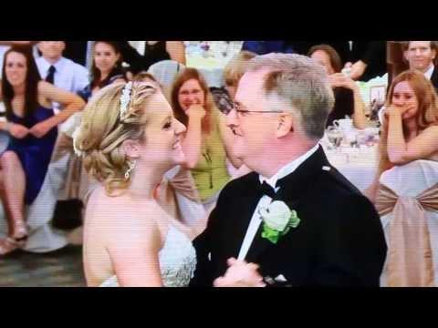 Beautiful Wedding Surprise Father Daughter Dance