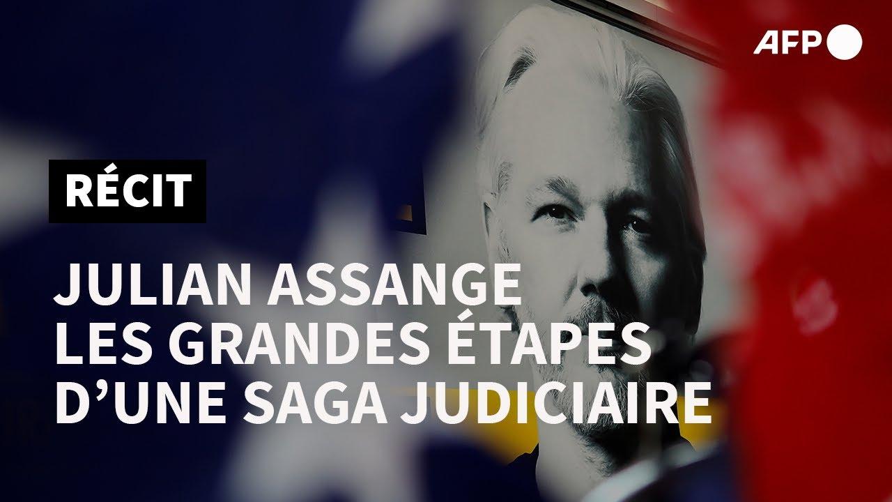 Download Julian Assange : retour sur une affaire hors normes | AFP