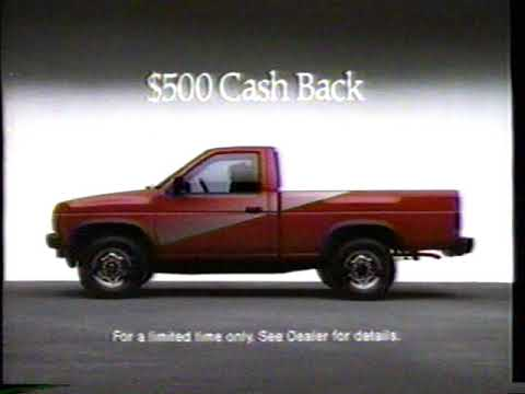 1988 Nissan Hard Special Pickup Truck Commercial - YouTube