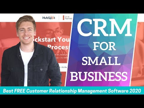 CRM For Small Business   Best FREE Customer Relationship Management Software (2020)