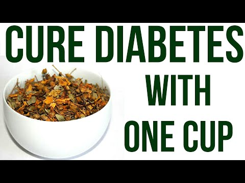 Take One Cup To Cure Diabetes Naturally | 100% Natural Herbs to Control Diabetes