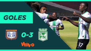 Boyacá Chicó vs. Nacional (0-3)   Liga BetPlay Dimayor 2020-I   Fecha 4