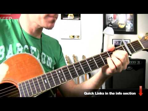 Taylor Swift - You Belong To Me - Guitar Lesson - How To Play Easy Acoustic Songs