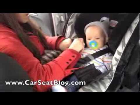 2014 G4 Britax Advocate Review Convertible Carseat With Infant