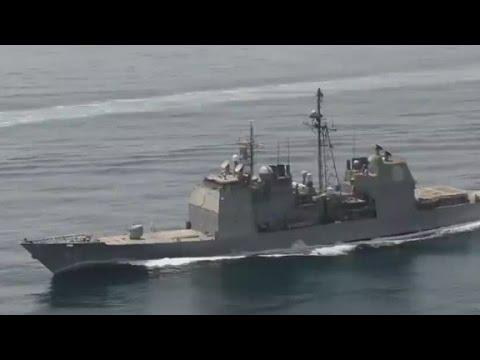 Iranian vessels heading closer to U.S. warships