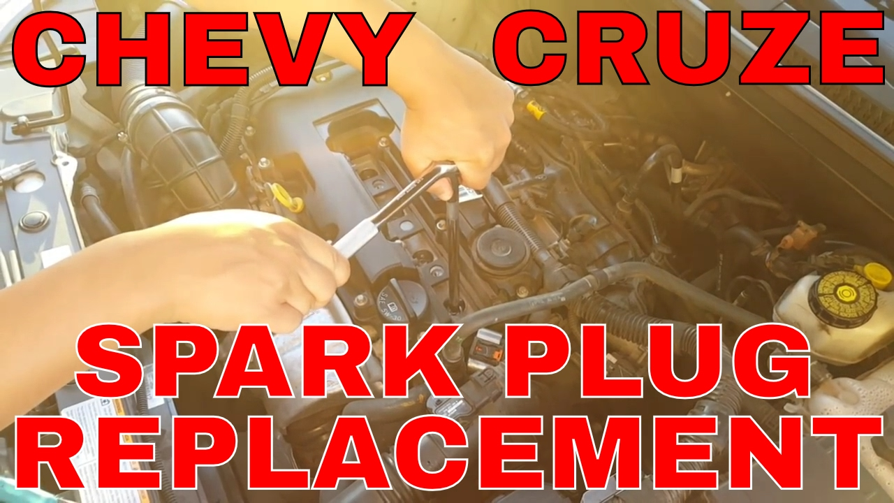 chevy cruze spark plug replacement tutorial [ 1280 x 720 Pixel ]