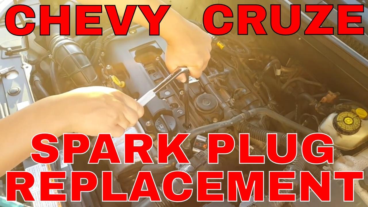 medium resolution of chevy cruze spark plug replacement tutorial