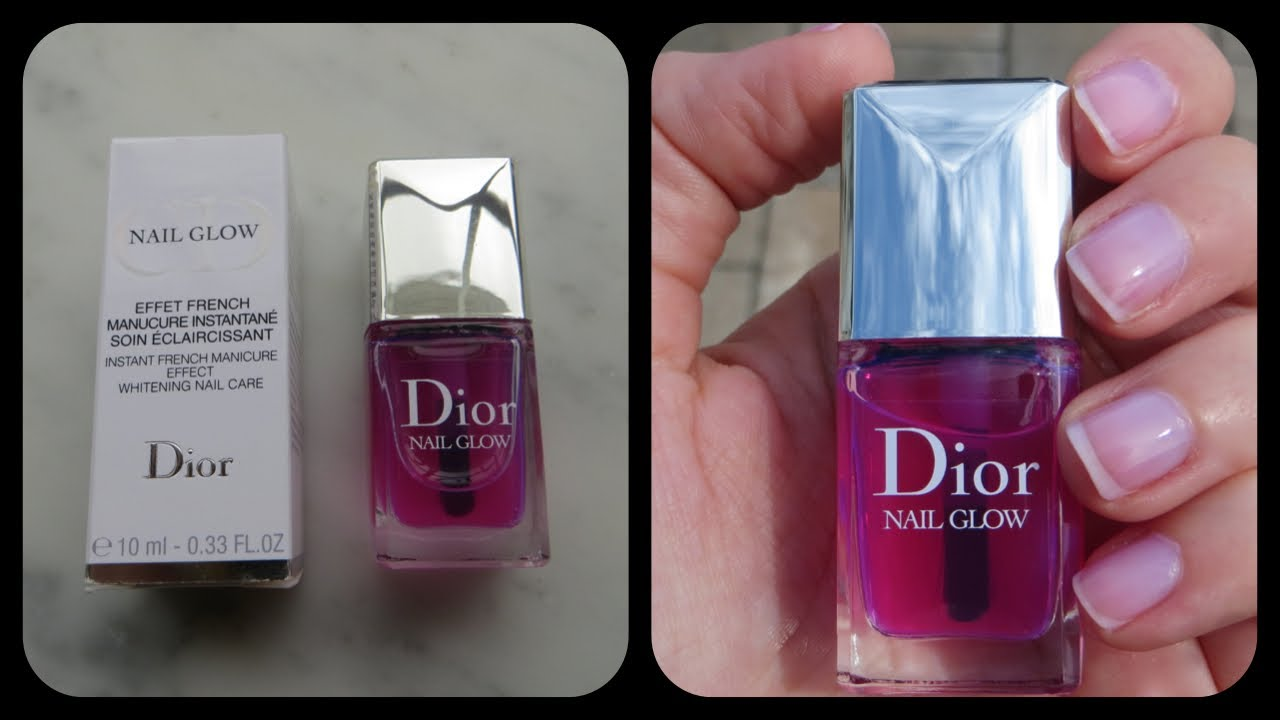 Dior Nail Glow Review - YouTube
