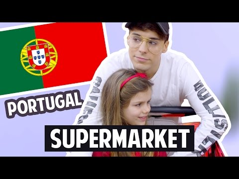 PORTUGUESE SUPERMARKET Tour & Food Test