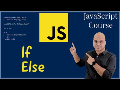 #12 Conditional Statements If Else in JavaScript