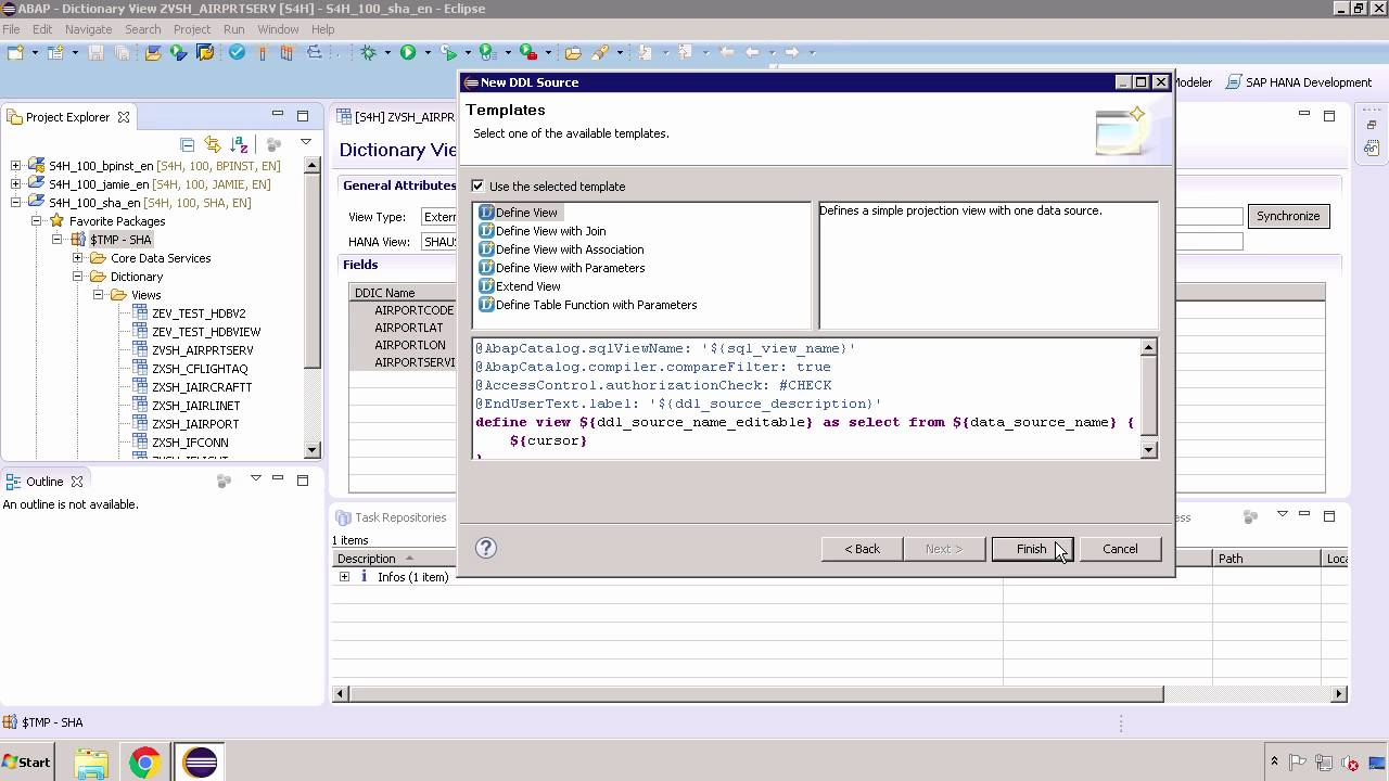 SAP HANA Academy - SAP S/4HAHA: Extending with External Data - Part 7: CDS  View on External View