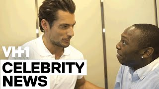 David Gandy with Jarvis In The Elevator | VH1