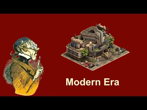 FoEhints: Modern Era in Forge of Empires