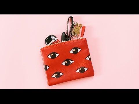 I-DIY: Eye-DIY A Kenzo-Inspired Clutch